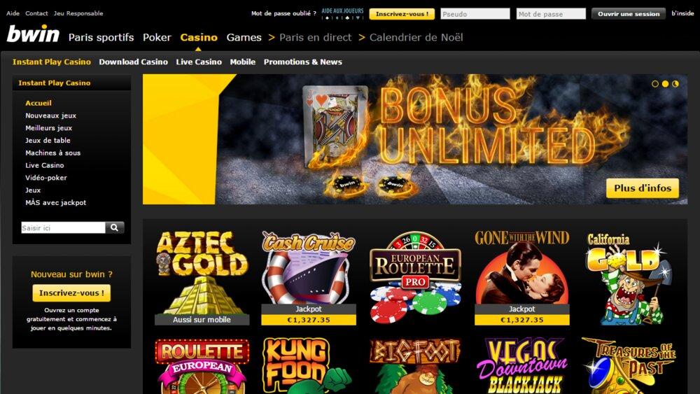 Bwin apk sur Casino